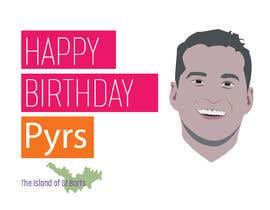 #30 dla Pyrs Birthday Logo przez mehediabir1