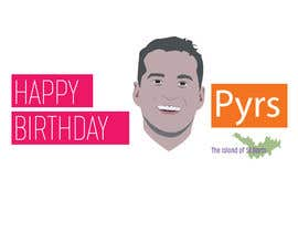 #31 for Pyrs Birthday Logo by mehediabir1