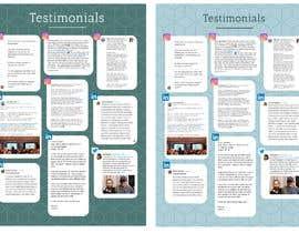 #8 para Create a testimonial page de ericaddesign