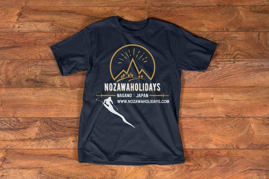 Konkurrenceindlæg #78 for Design a T Shirt for Ski Lodge in Japan