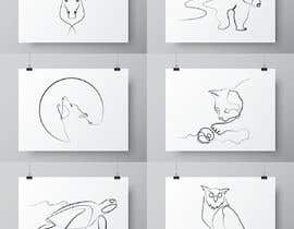 #42 cho Animals drawn with one line only bởi vothaidezigner