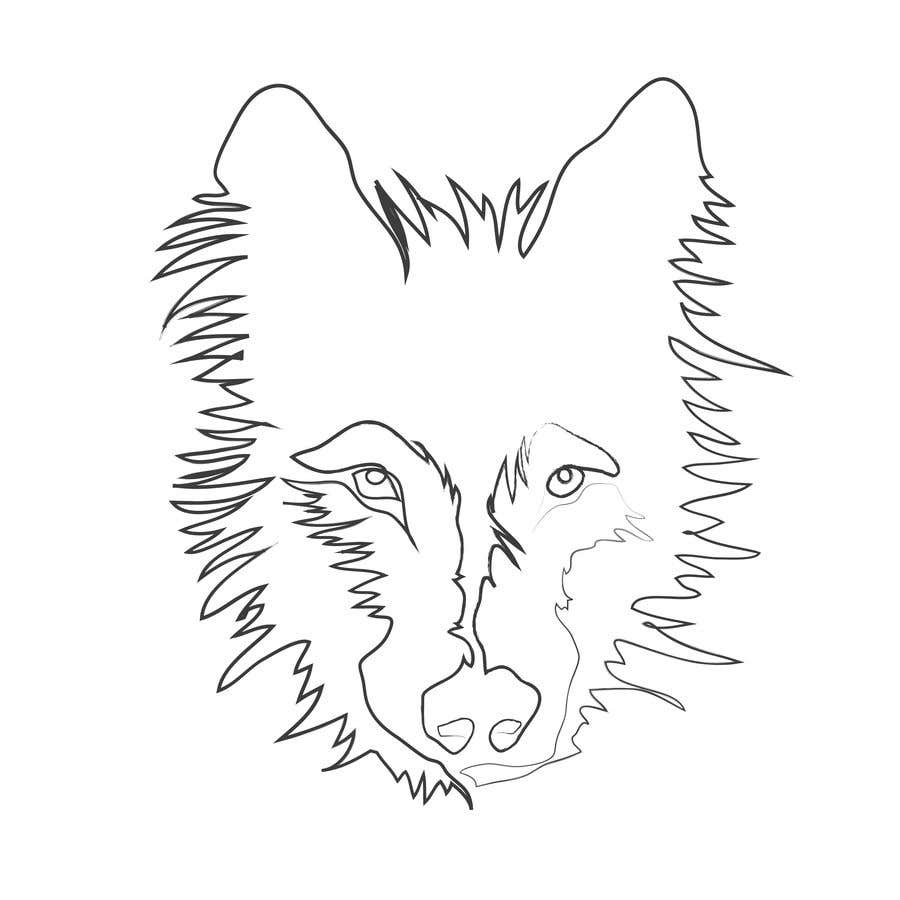 Contest entry 53 for animals drawn with one line only