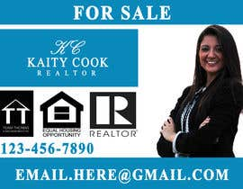 "#50 for Design My Real Estate Agent ""FOR SALE"" Sign by sohan12341"