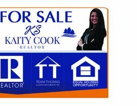 "#52 for Design My Real Estate Agent ""FOR SALE"" Sign by alimohamedomar"