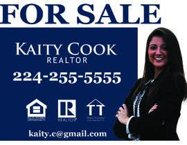 "#57 for Design My Real Estate Agent ""FOR SALE"" Sign by unique007"