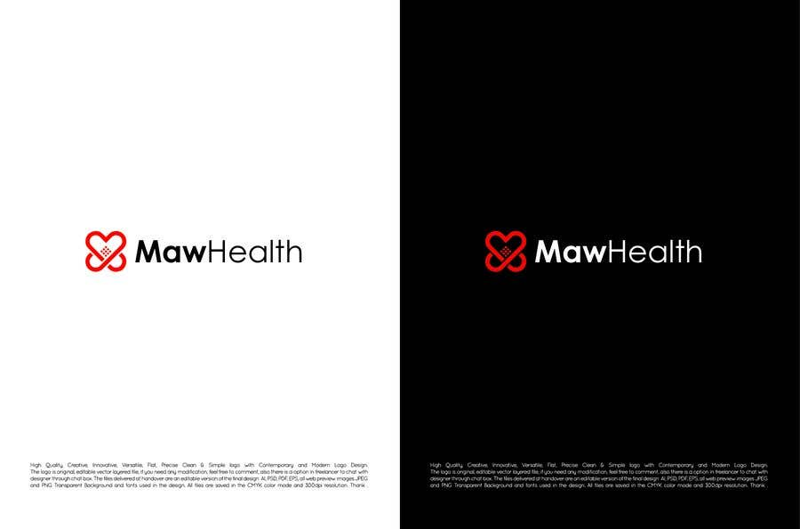 Kilpailutyö #310 kilpailussa logo and icon design for Medical an Wearable