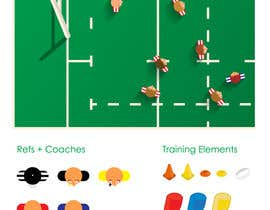#4 for Rugby Gameplan Infographic by AgustinCano