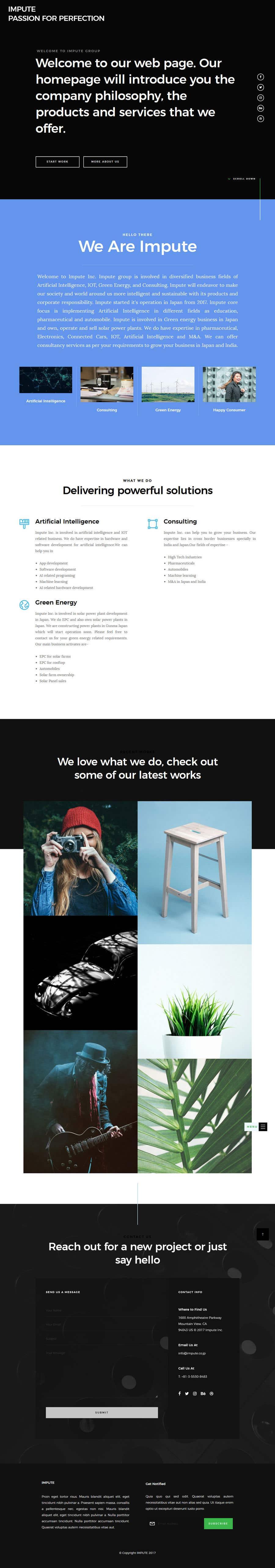 Kilpailutyö #7 kilpailussa Design Homepage
