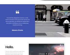 Nro 10 kilpailuun Design Homepage käyttäjältä ganupam021
