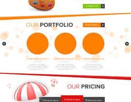Nro 9 kilpailuun Design Homepage käyttäjältä SimranChandok