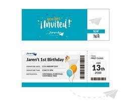 #30 for I need a Birthday Invitation Done av valeryamqdesign
