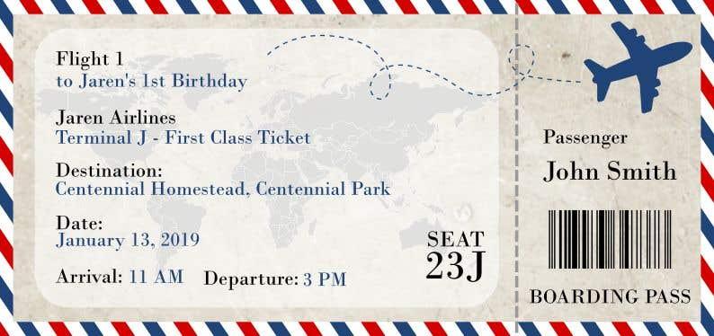 Kilpailutyö #16 kilpailussa I need a Birthday Invitation Done