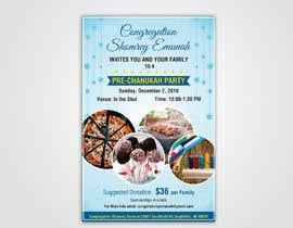 Nro 5 kilpailuun Chanukah Poster käyttäjältä dissha
