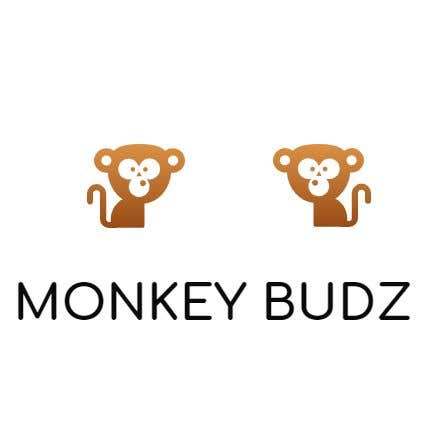 Kilpailutyö #3 kilpailussa I need a logo designed for an upper market vape and marijuana store named Monkey Budz the logo must contain 2 monkey heads one smoking a blunt the other vaping. Something classy that will appear to both young and old generations