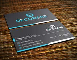 #64 for Design a Logo and a Business Card (Decorare) by BMAssa