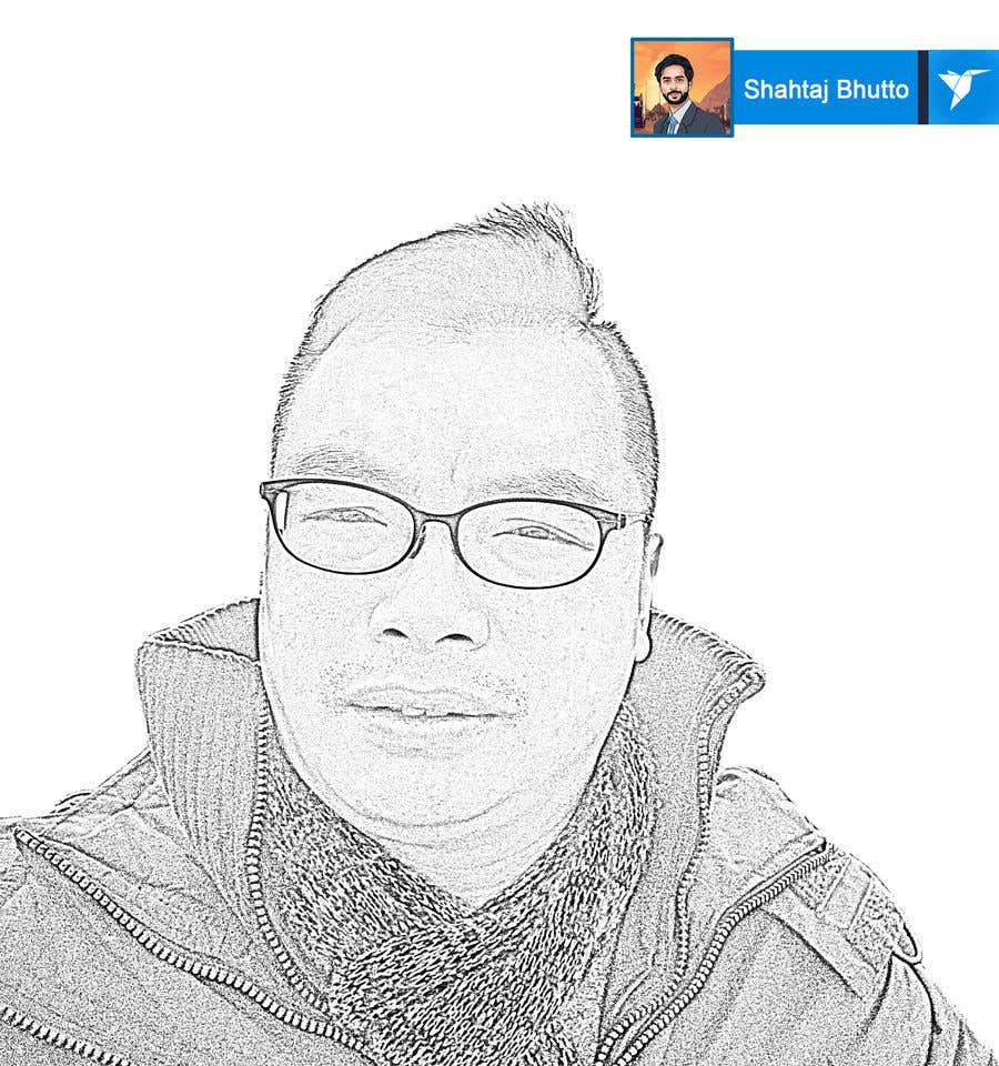 Inscrição nº 7 do Concurso para sketch portrait