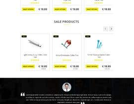 #8 for Redesign an Ecommerce Website Homepage by Baljeetsingh8551
