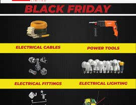 #7 for Design for Black Friday flyers, facebook and instagram campaigns by eashin59