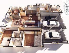 #20 per 3D Render of Floor plan da jairandresrmz