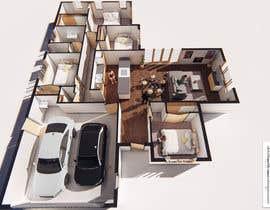 #27 per 3D Render of Floor plan da jairandresrmz
