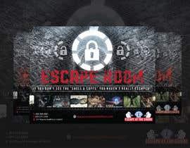 #1 para professionally designed ad for escape room business de abiadalyssac