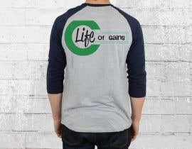 "#5 para Life of Gains is the brand name and I want this wording on the T-shirt ""If I only had a dime I'd still bet on myself"" be creative I don't want just plain text! por nagimuddin01981"