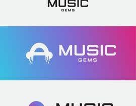 """Nro 17 kilpailuun Erstellen Sie ein Logo für mein Startup-Unternehmen """"Music-Gems"""" käyttäjältä yanadyakova"""
