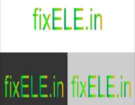 #5 untuk FixELE.in is a multi brand mobiles , laptops and CCTV cameras sales and services online and at stores oleh ahmadnh