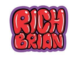 "#190 for ""RICH BRIAN"" custom style logo by Jasmmin"