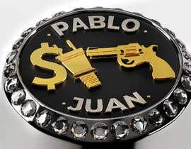 """Číslo 12 pro uživatele Design a mens ring with my logo """"MONEY, PLUG, GUN"""" od uživatele behzadkhojasteh"""