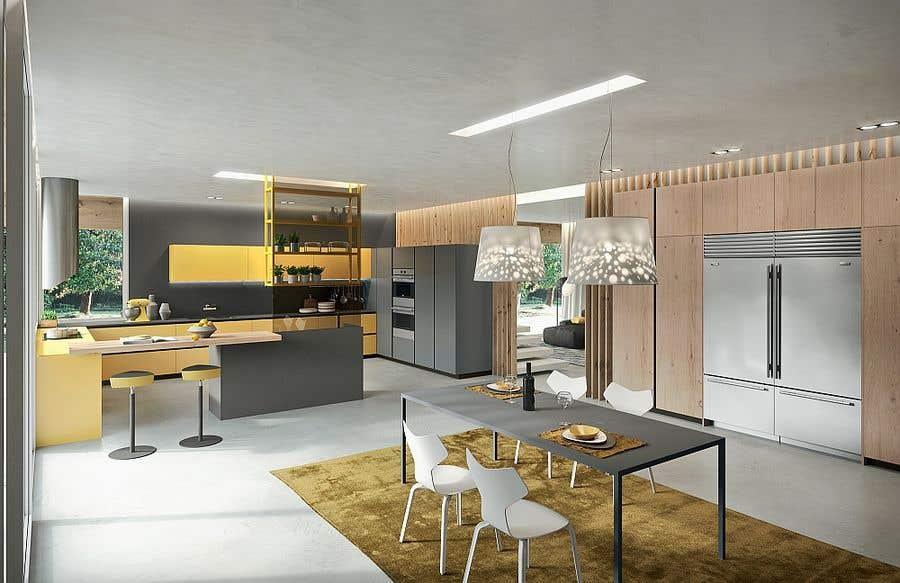 Penyertaan Peraduan #42 untuk interior design