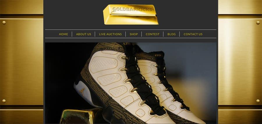 Kilpailutyö #                                        2                                      kilpailussa                                         Website Design for a dynamic background for my website Goldbarkicks.com