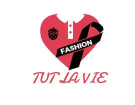 "#42 for Hi I need a new logo, the name of my new brand is ""Tut La vie""- fashion for good.          casual fashion brand for women. Tut is also strawberry in Hebrew so I thought about strawberry in shape of ❤️ but maybe in black. Clean design and not too childish. by ArdiZulFikri"
