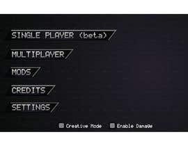 Nro 14 kilpailuun Need a game menu to be redesigned käyttäjältä chhamzatariq