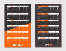 #23 Create drive thru menu board részére Jason99s által