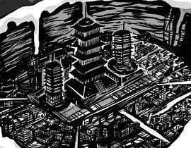 #6 for Comic book (anime) style drawings of locations in a novel af D3baser