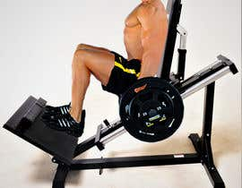 #10 for leg press with a model by dinujayaudara99