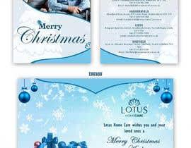 #39 for Design a bespoke Christmas Card af satishandsurabhi