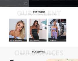 Nro 40 kilpailuun Website Design for Social Media Agency käyttäjältä WebCraft111