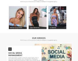 Nro 51 kilpailuun Website Design for Social Media Agency käyttäjältä WebCraft111