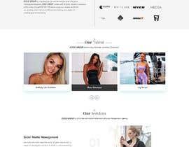 Nro 42 kilpailuun Website Design for Social Media Agency käyttäjältä veletechnosoft