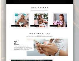 Nro 13 kilpailuun Website Design for Social Media Agency käyttäjältä JuliaKampf
