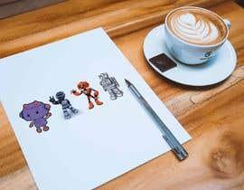 nº 13 pour Kawaii style robots par smmfastservice36