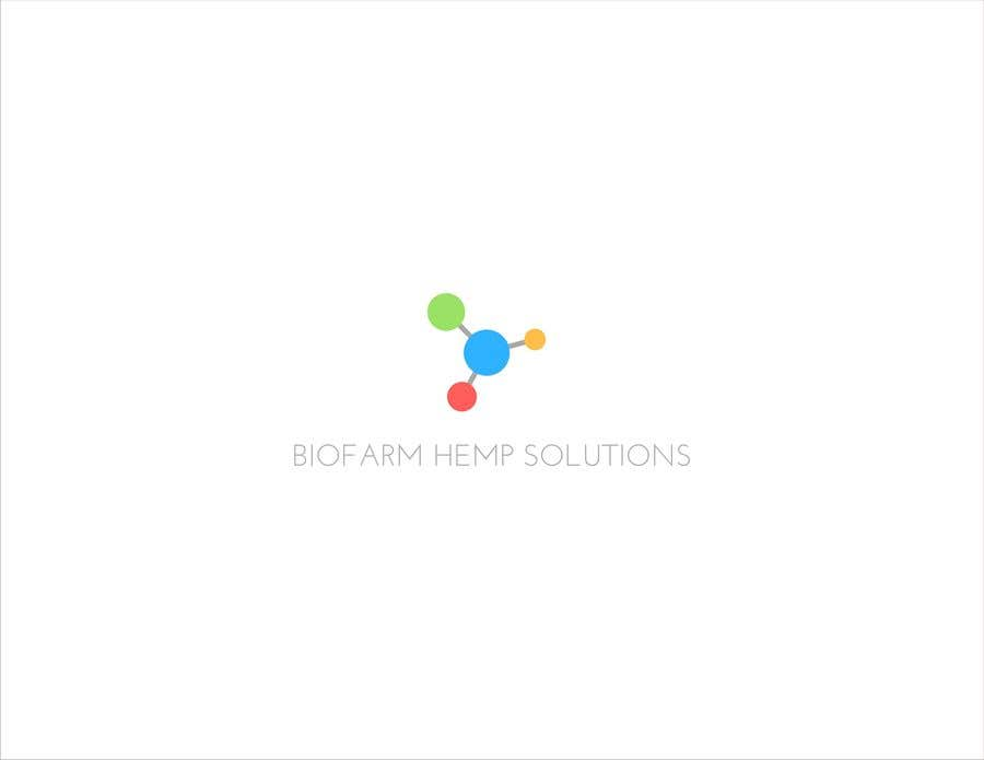 Kilpailutyö #16 kilpailussa Design a Logo - BioFarm Hemp Solutions