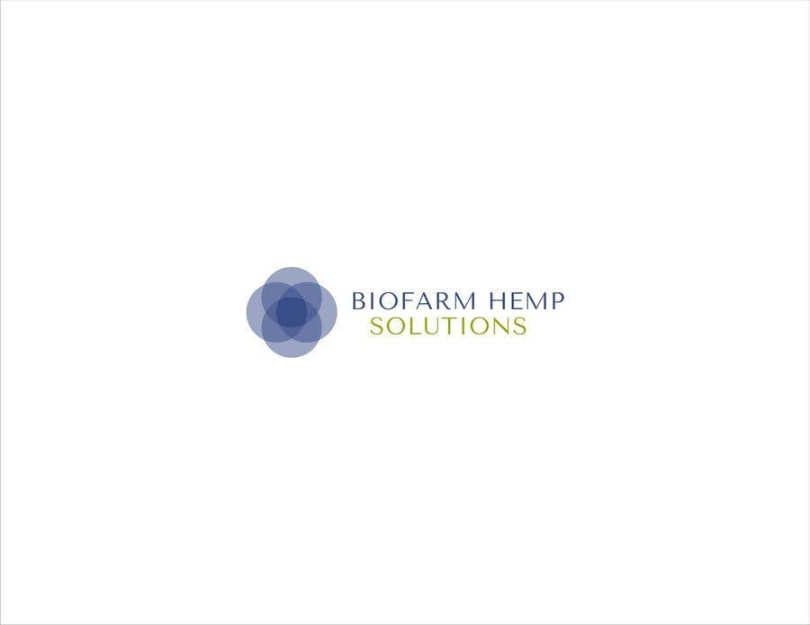 Kilpailutyö #18 kilpailussa Design a Logo - BioFarm Hemp Solutions