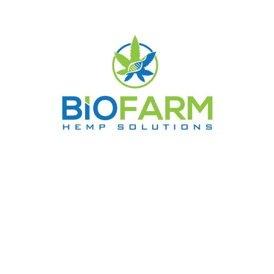 Kilpailutyö #65 kilpailussa Design a Logo - BioFarm Hemp Solutions