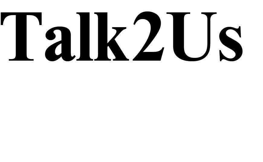 Konkurrenceindlæg #78 for Talk2Us project logo