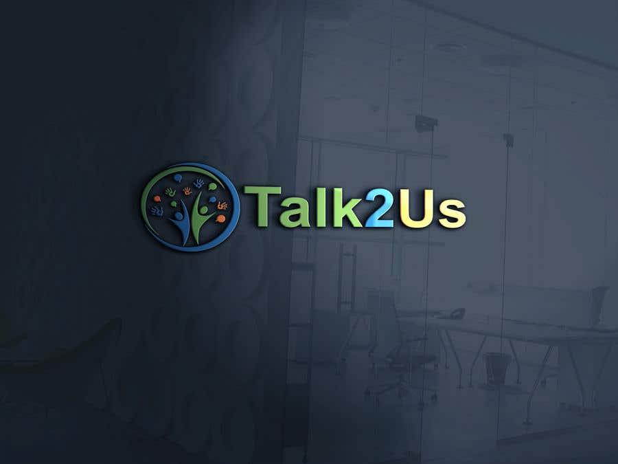 Konkurrenceindlæg #41 for Talk2Us project logo