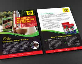 #20 for Yerba mate SALES flyer, double sided size A5. af MDSUHAILK