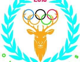 "nº 14 pour A logo for a t-shirt with the outline of a deer face and that says ""Venado Olimpiadas 2018"" par nazmussakibpolas"